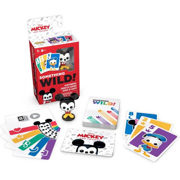 Funko Mickey and Friends Something Wild Pop! Card Game - Deutsch / Espanol / Italiano Edition