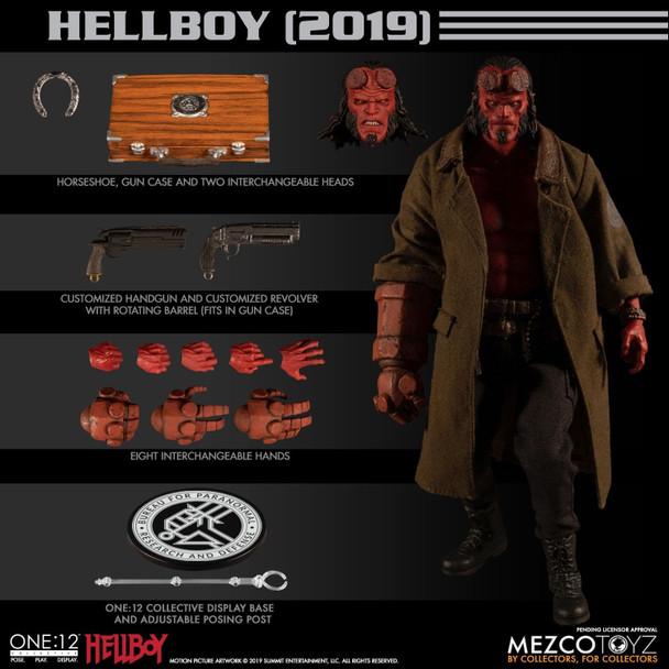 Mezco Toyz Hellboy Movie 2019 One:12 Collective Action Figure
