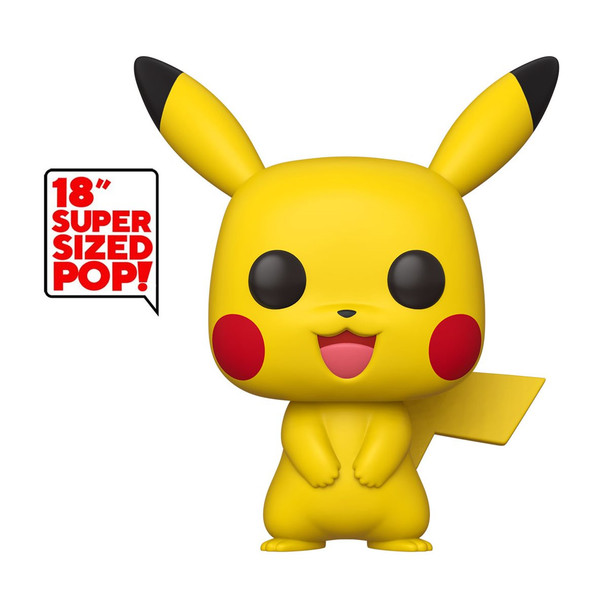 Funko Pokemon Pikachu 18-Inch Pop! Vinyl Figure