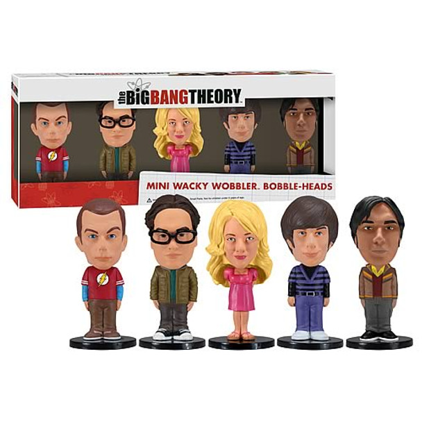 Big Bang Theory Mini Bobble Head Box Set