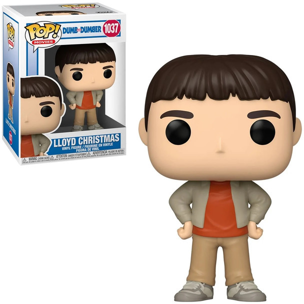 Funko Dumb and Dumber Lloyd Christmas Pop! Vinyl Figure