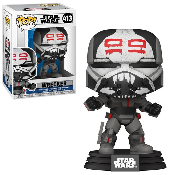 Funko Star Wars: The Clone Wars Wrecker Pop! Vinyl Figure