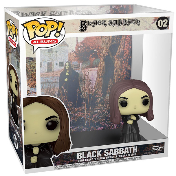 Funko Black Sabbath Pop! Album Figure with Case