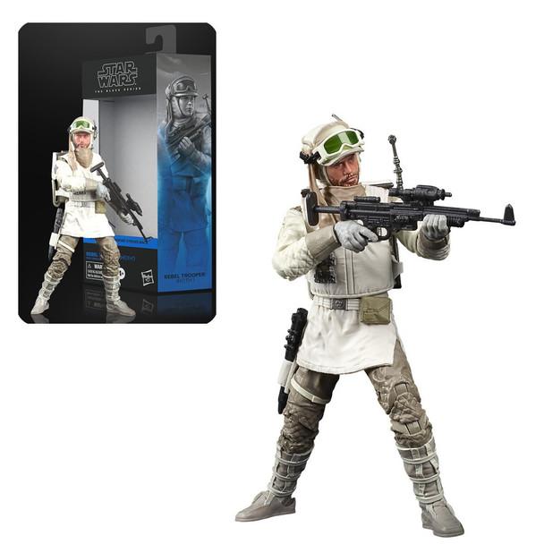 Star Wars The Black Series Rebel Trooper (Hoth) 6-Inch Action Figure