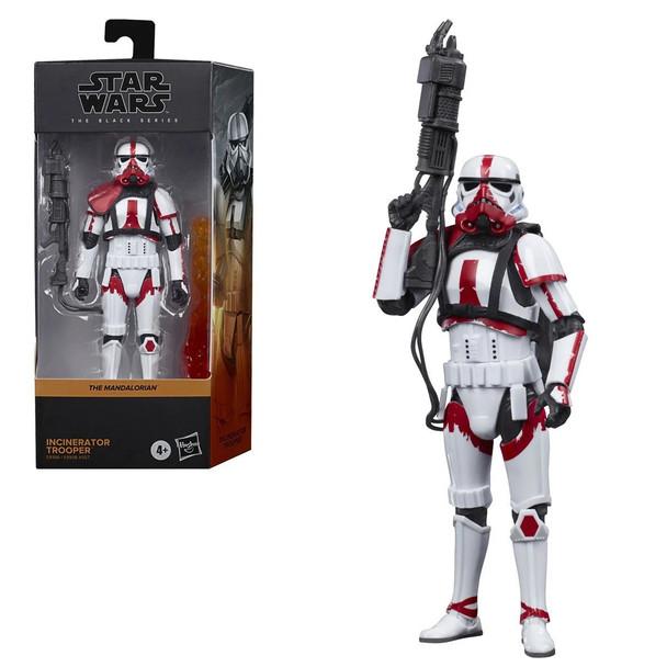 Star Wars The Black Series Incinerator Trooper 6-Inch Action Figure