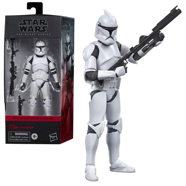 Star Wars: The Black Series Clone Trooper (AOTC) 6-Inch Action Figure
