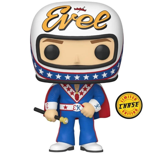 Funko Evel Knievel with Cape CHASE Pop! Vinyl Figure