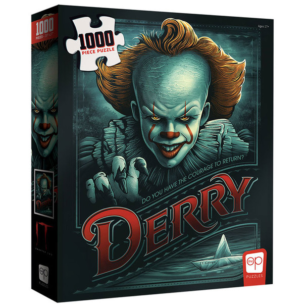 """IT Chapter Two """"Return to Derry"""" 1000 Piece Puzzle"""