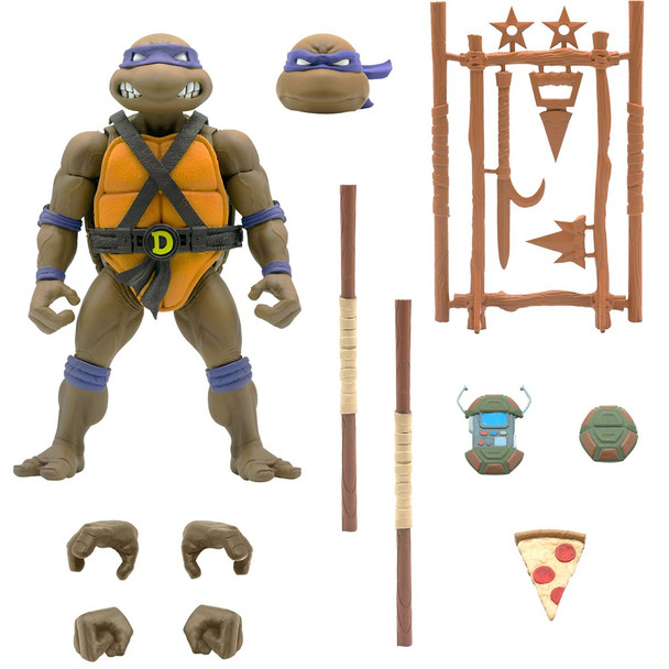 [PRE-ORDER] Super7 Teenage Mutant Ninja Turtles Ultimates Donatello 7-Inch Action Figure