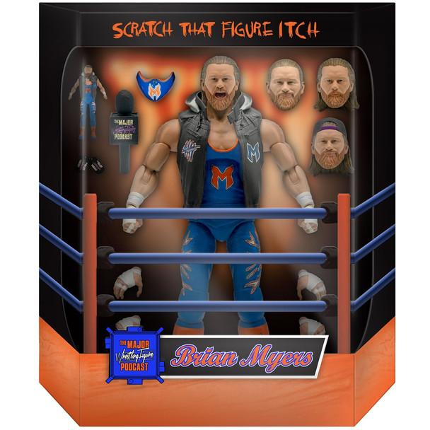 [PRE-ORDER] Super7 Major Wrestling Figure Podcast Ultimates Brian Myers 7-Inch Action Figure