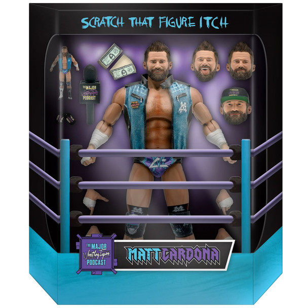 [PRE-ORDER] Super7 Major Wrestling Figure Podcast Ultimates Matt Cardona 7-Inch Action Figure