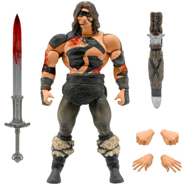 [PRE-ORDER] Super7 Conan the Barbarian Ultimates War Paint Conan 7-Inch Action Figure