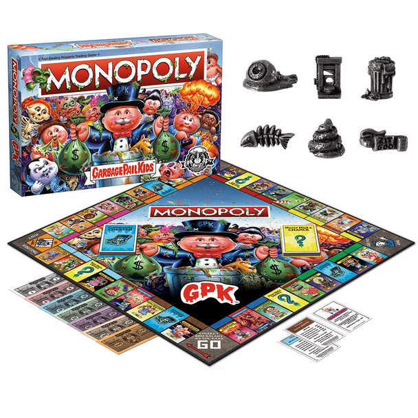 Garbage Pail Kids Monopoly Game
