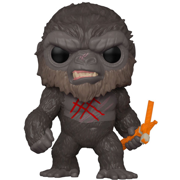 Funko Godzilla vs. Kong Battle Scarred Kong Pop! Vinyl Figure