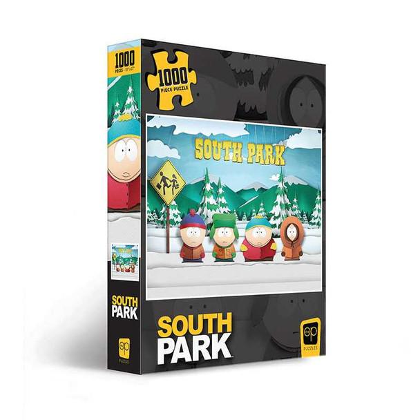 """South Park """"Paper Bus Stop"""" 1000 Piece Puzzle"""