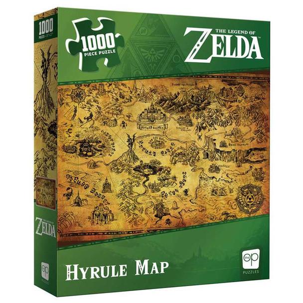 "The Legend of Zelda ""Hyrule Map"" 1000 Piece Puzzle"