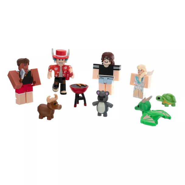Roblox Adopt Me Backyard BBQ Figure Pack (Includes Exclusive Virtual Item)