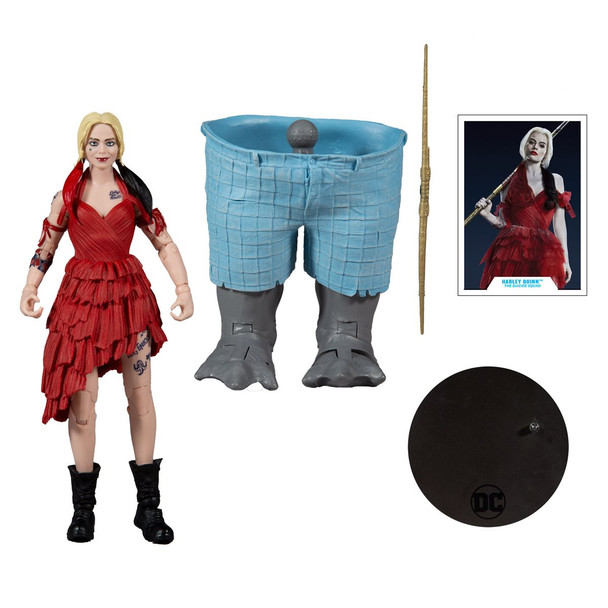 DC Build-A Wave 5 Suicide Squad Movie Harley Quinn Action Figure