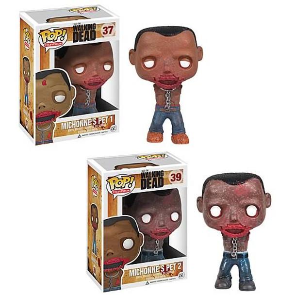 The Walking Dead Michonne's Pet Walkers Pop! Vinyl Figures Set
