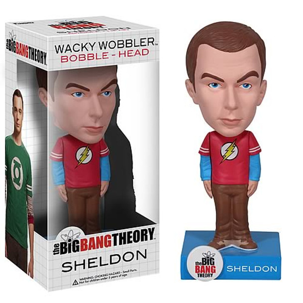 Big Bang Theory Sheldon Cooper Bobble Head