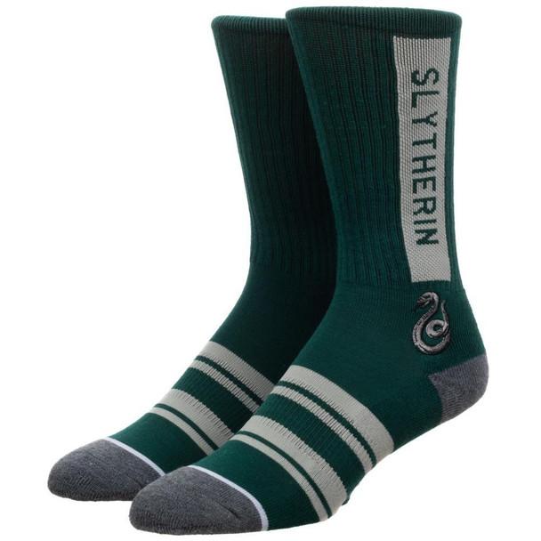 Harry Potter Slytherin Athletic Crew Socks