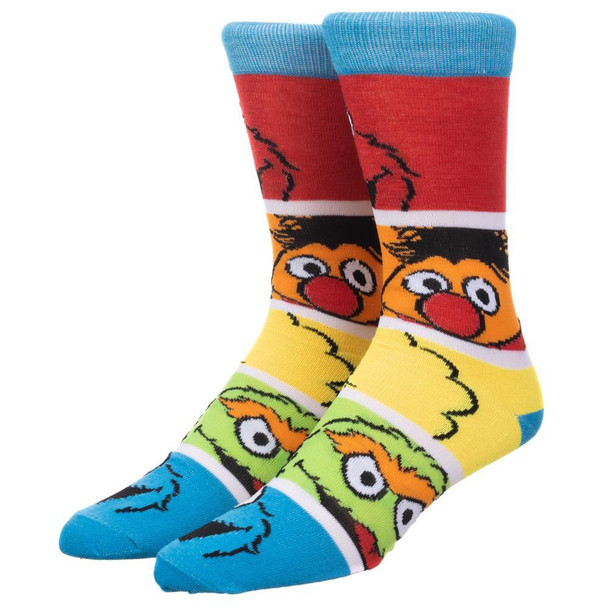 Sesame Street Friends Crew Socks