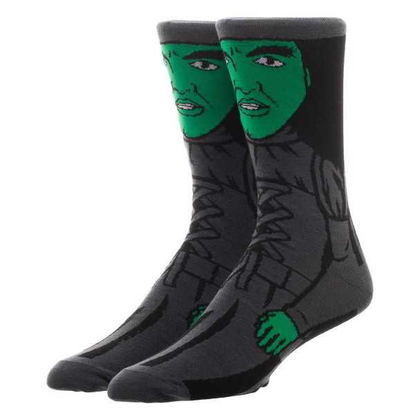 Wizard Of Oz Wicked Witch 360 Character Socks