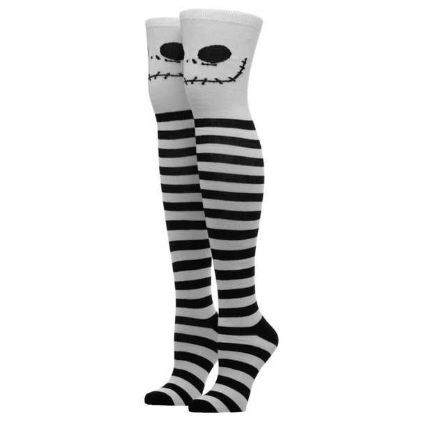 Nightmare Before Christmas Jack Knee High Socks