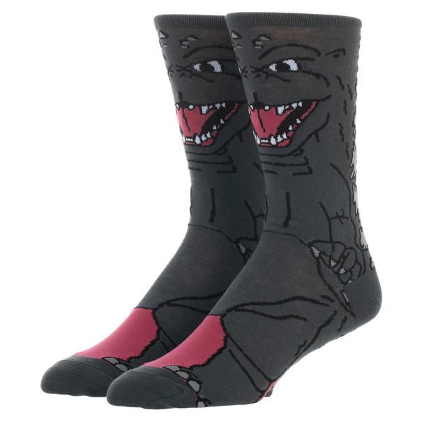 Godzilla 360 Character Crew Socks