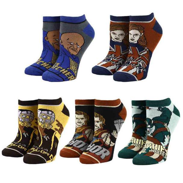 Marvel What If? 5 Pair Ankle Socks