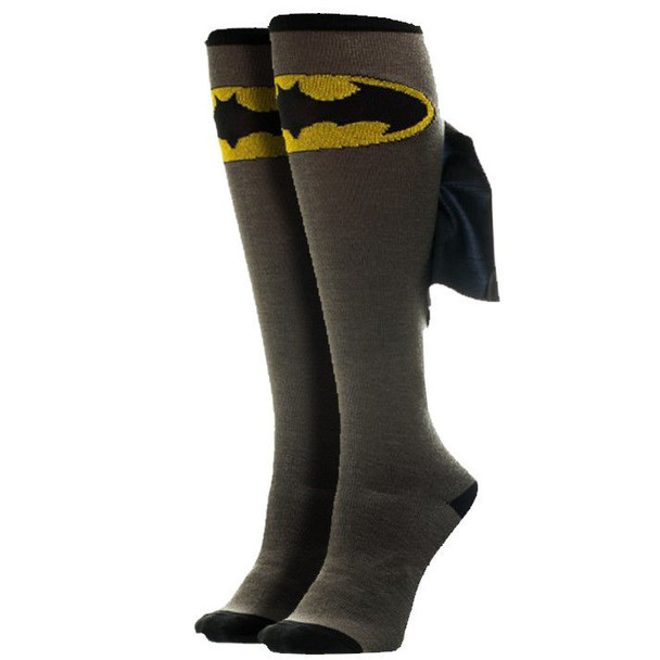 DC Comics Batman Logo Knee High Socks