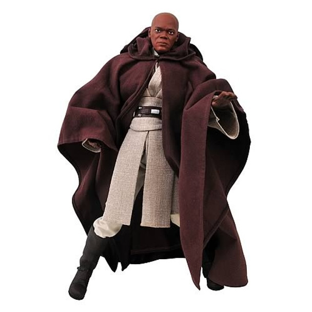 Star Wars Mace Windu Ultimate Quarter Scale Action Figure
