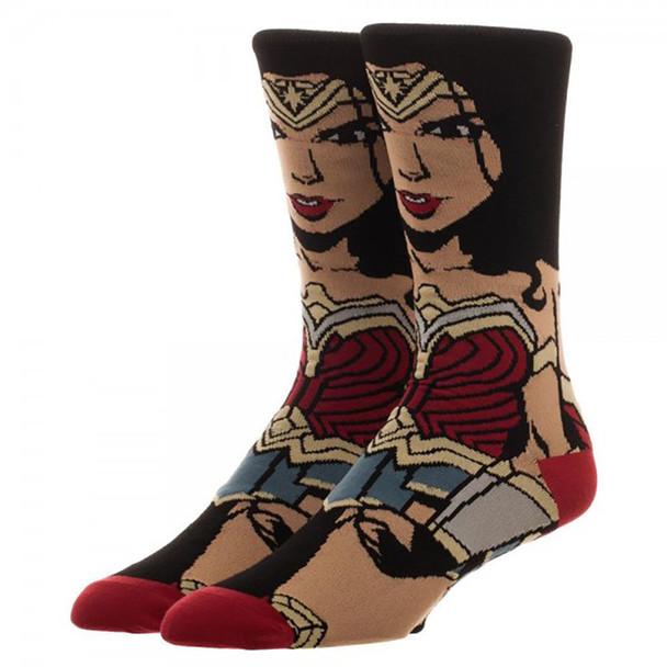 DC Comics Justice League Wonder Woman 360 Socks