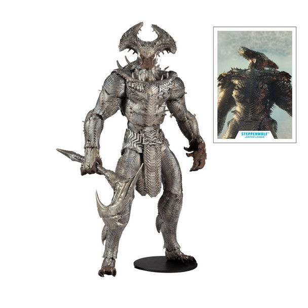 DC Zack Snyder Justice League Steppenwolf 10-Inch Mega Action Figure