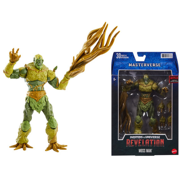 Masters of the Universe Masterverse Revelation Moss Man Classic Action Figure