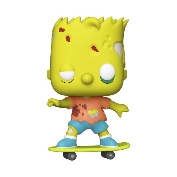 Funko The Simpsons Zombie Bart Pop! Vinyl Figure (Not Mint)