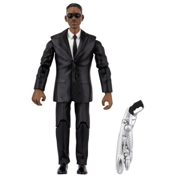Men in Black 3 Basic Action Figure with Small Accessory - Agent J