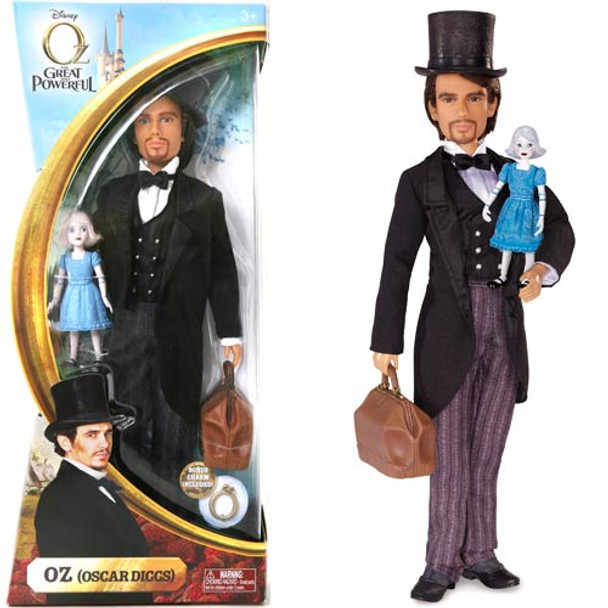 Oz the Great and Powerful and China Disney Fashion Dolls