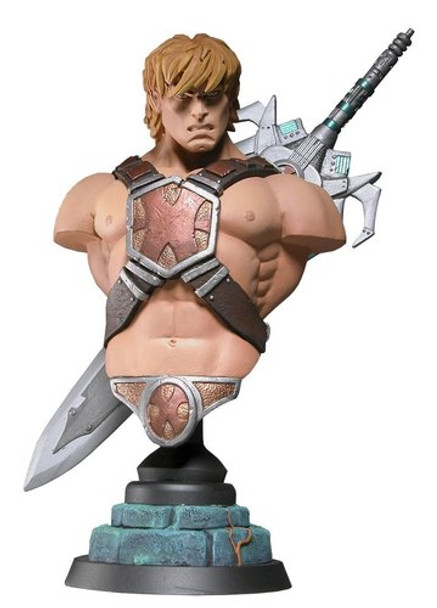 Masters Of The Universe He-Man Resin Mini-Bust Signed Artist Proof