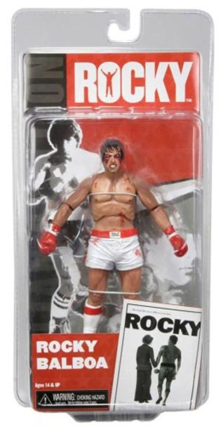NECA Rocky Series 1 Rocky Balboa (Bloody Version) Fight) 7 Inch Figure