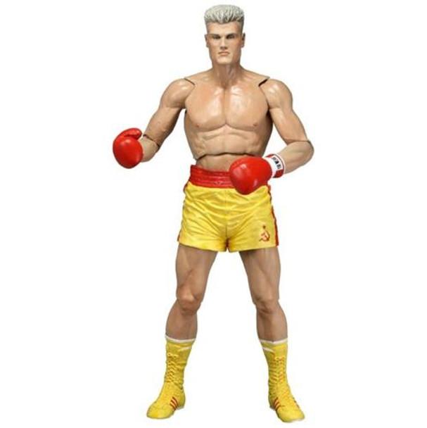 NECA Rocky Series 2 Drago IV Yellow Trunks 7 Inch Figure