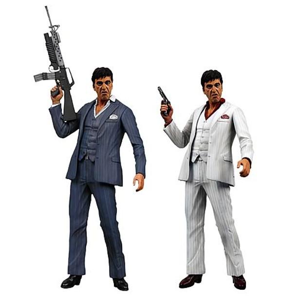 Scarface Tony Montana 7-Inch Action Figure Set (Not Mint)