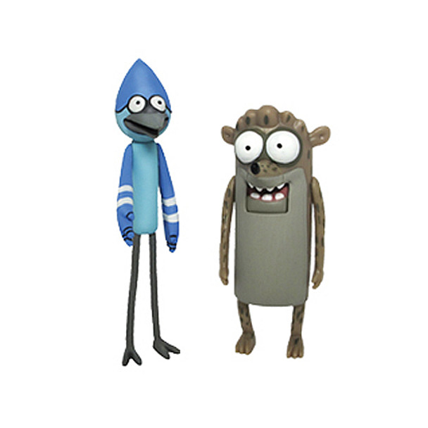 Regular Show 3-Inch Mordecai & Rigby Action Figure Set