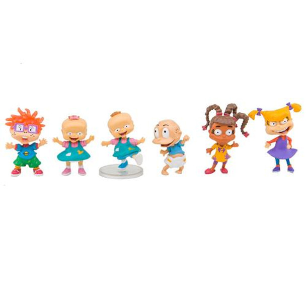 Rugrats 2 inch Deluxe Action Figure 6 Pack