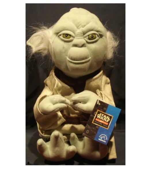 "Star Wars Classic Collectors Series 12"" Yoda Plush Doll"