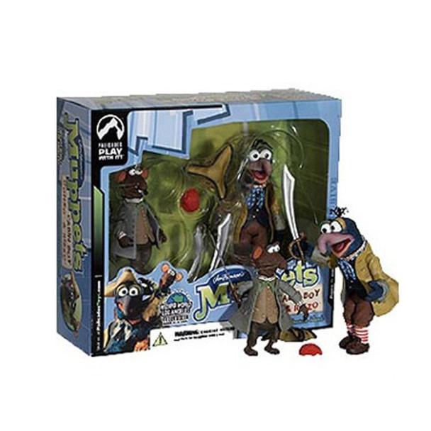 Muppets Exclusive Cabin Boy Gonzo  Rizzo Figure Set