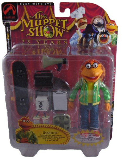 Muppets Series 3: Scooter Figure