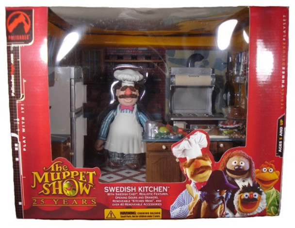 Muppets Series 3: Swedish Kitchen Deluxe Playset