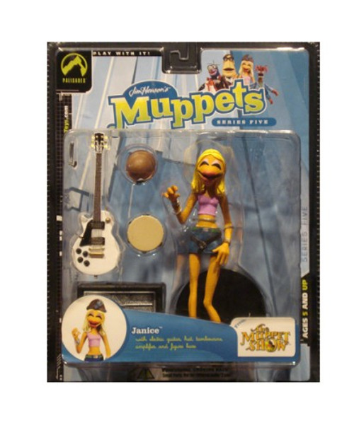 Muppets Series 5: Janice Action Figure