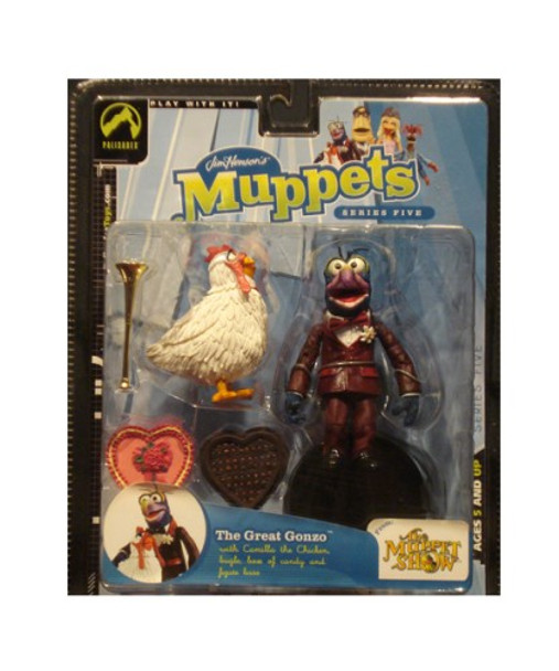 Muppets Series 5: The Great Gonzo & Camilla Action Figure